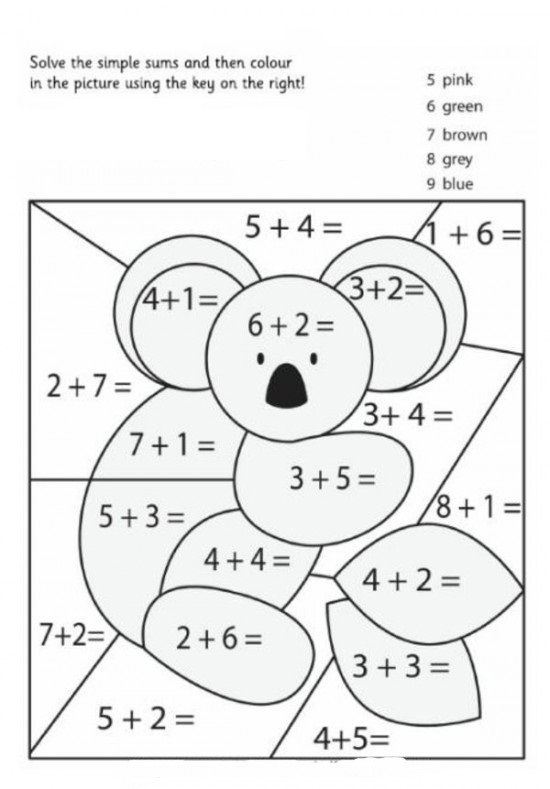Number Names Worksheets printable math coloring worksheets – Printable Math Coloring Worksheets