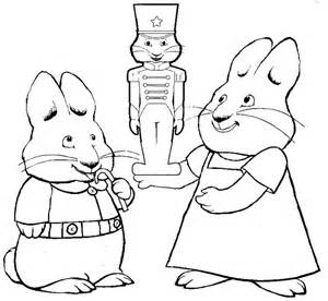 Printable Max And Ruby Coloring Pages Coloringme Com