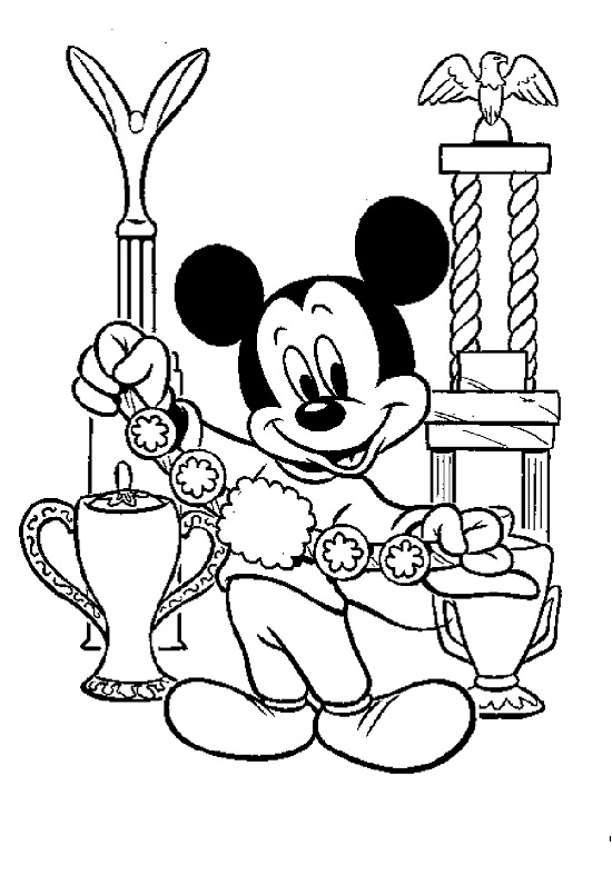mickey mouse clubhouse coloring pages printable