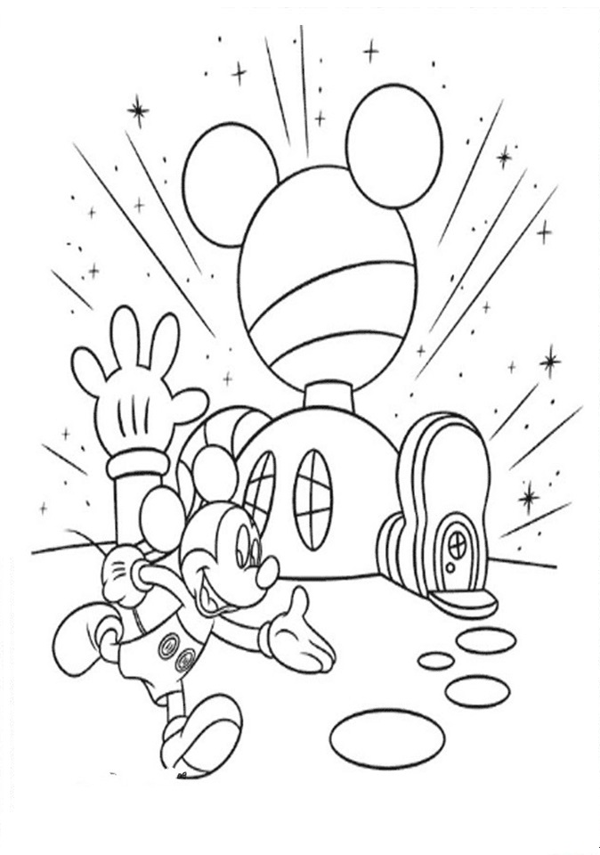 club house coloring pages - photo#8
