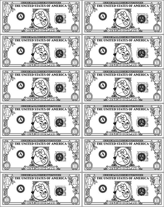 Printable Money Coloring Pages Coloringme Com