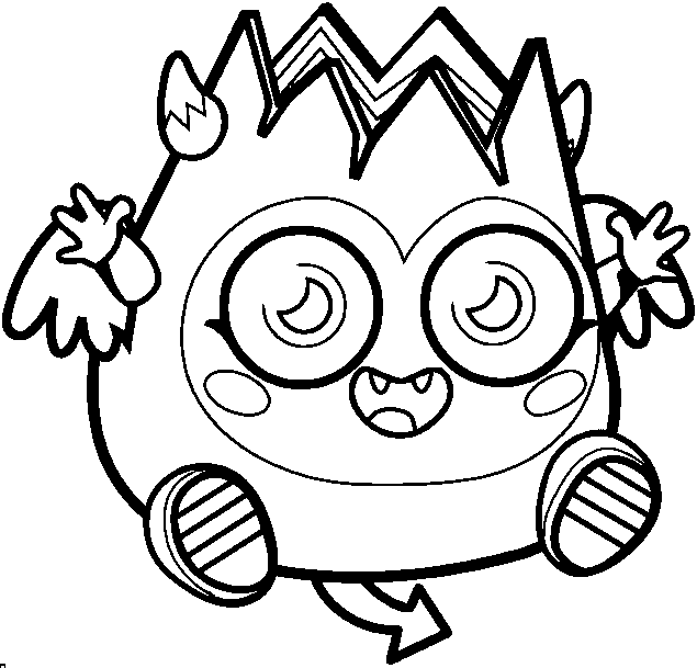 Printable Moshling Coloring Pages