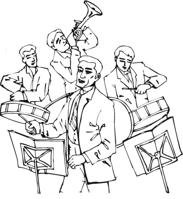 Printable Music Coloring Pages Coloring Me