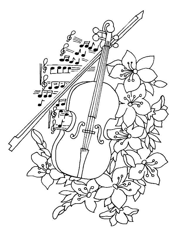 Printable Music Coloring Pages Coloringme Com