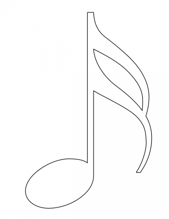 Printable Music Note Coloring Pages Coloring Me