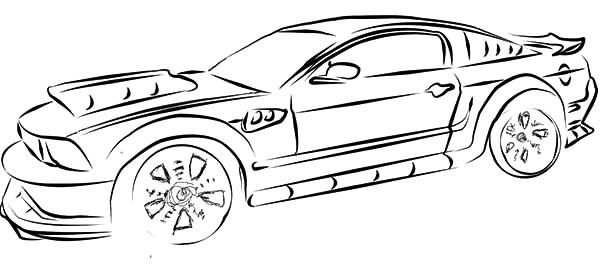 ford gt coloring pages - photo#26