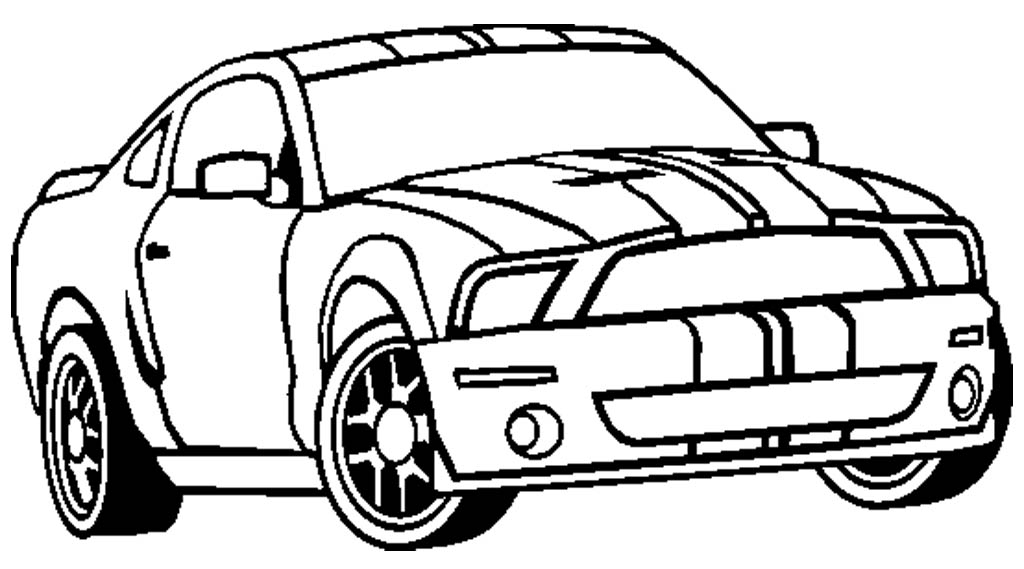mustang coloring sheets - Mustang Coloring Pages
