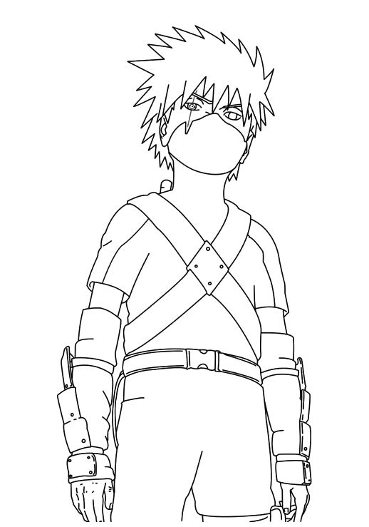 naruto coloring book pages - photo#30