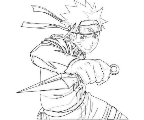 naruto coloring pages printable - Naruto Coloring Pages