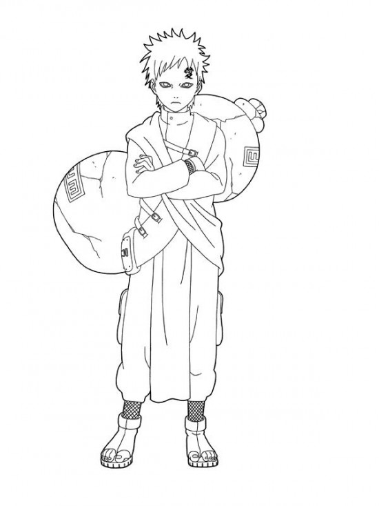 Printable Naruto Coloring Pages | Coloring Me