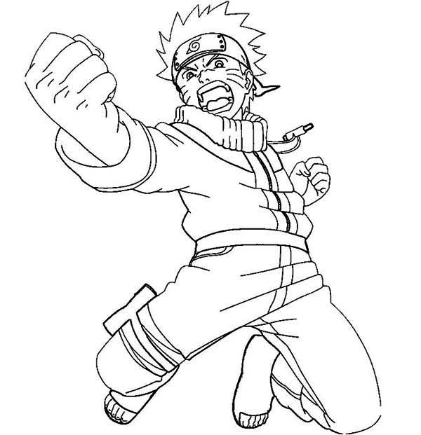 Printable Naruto Coloring Pages Coloringme Com