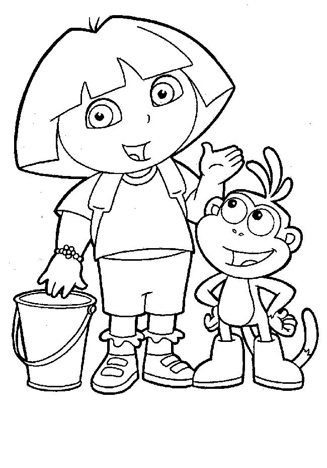 nick jr coloring pages free - Nick Jr Coloring Pages