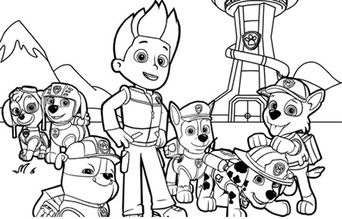 Printable Nick Jr Coloring Pages | ColoringMe.com