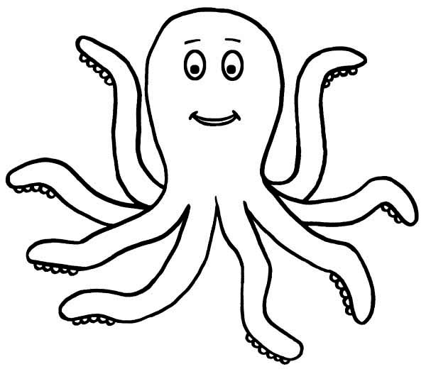 Printable Octopus Coloring Pages | Coloring Me