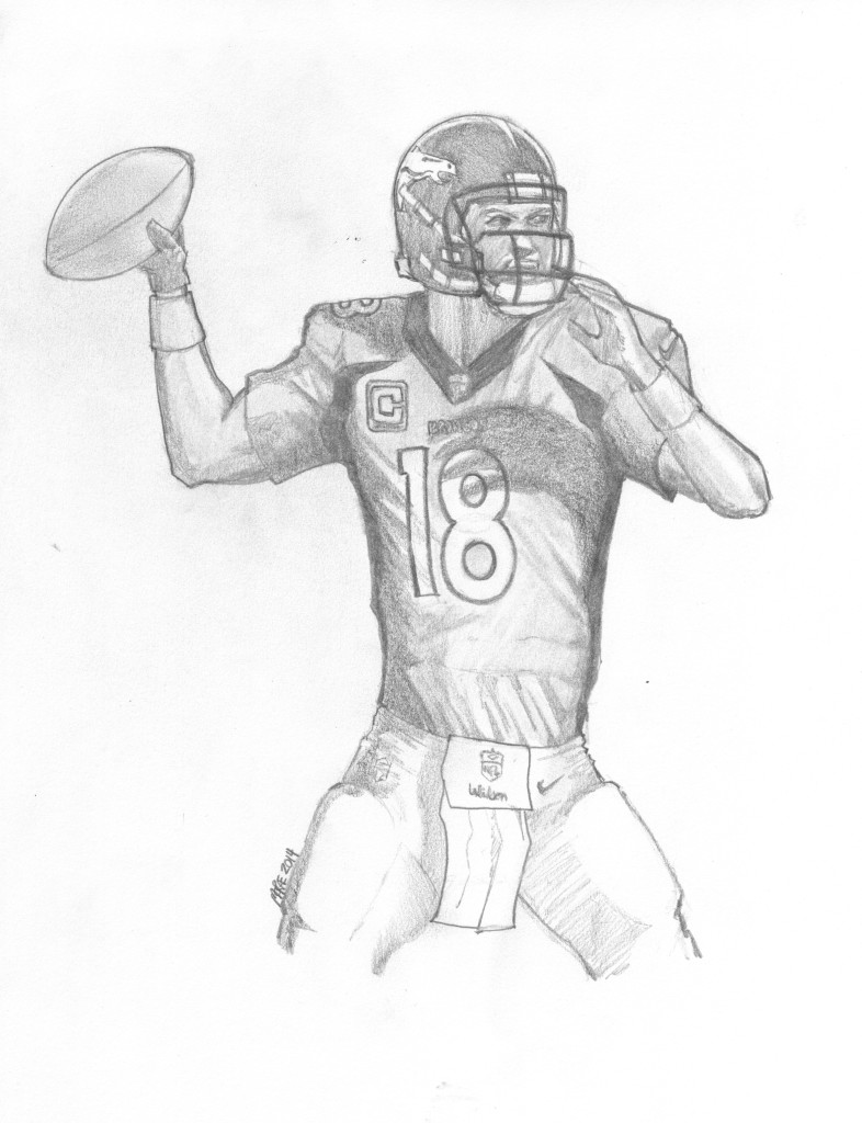 Denver Broncos Coloring Pages Printable Denver Broncos Coloring Pages  Coloring Me