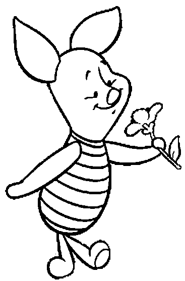 Printable Piglet Coloring Pages | Coloring Me
