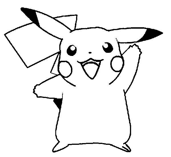 printable pikachu coloring pages coloring me
