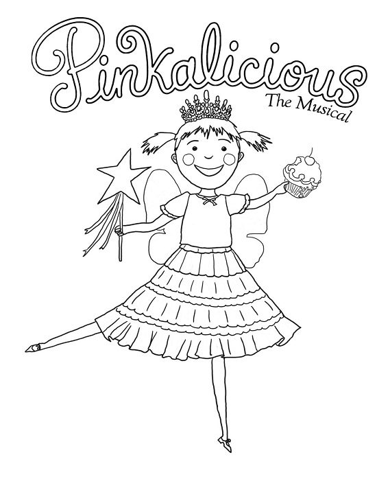 Printable Pinkalicious Coloring Pages Me