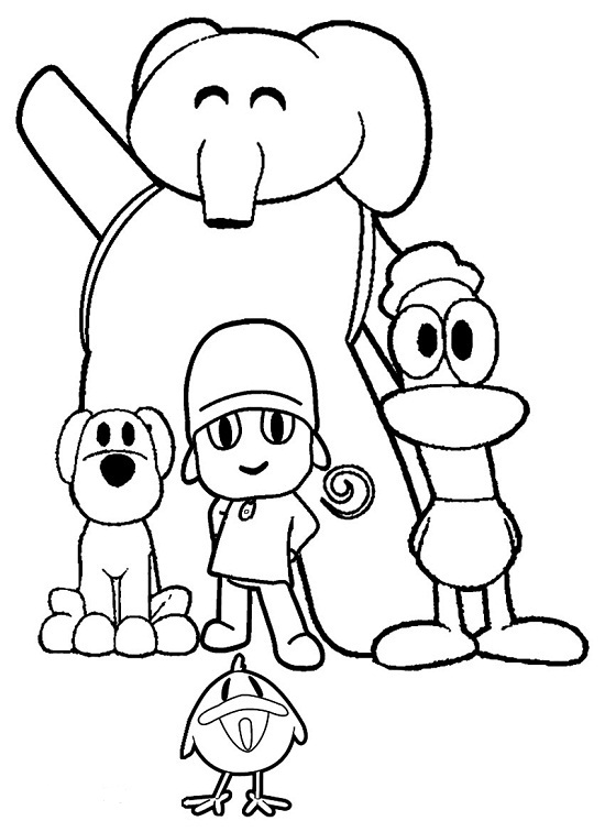 Printable Pocoyo Coloring Pages | Coloring Me