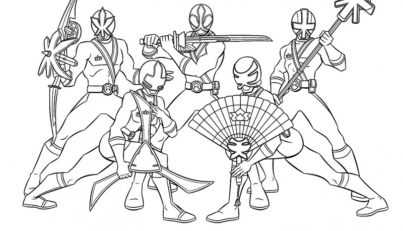 Printable Power Ranger Coloring Pages Coloring Me