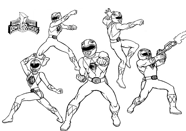 Printable Power Ranger Coloring Pages | Coloring Me