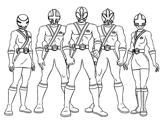 Printable Power Ranger Coloring Pages | ColoringMe.com