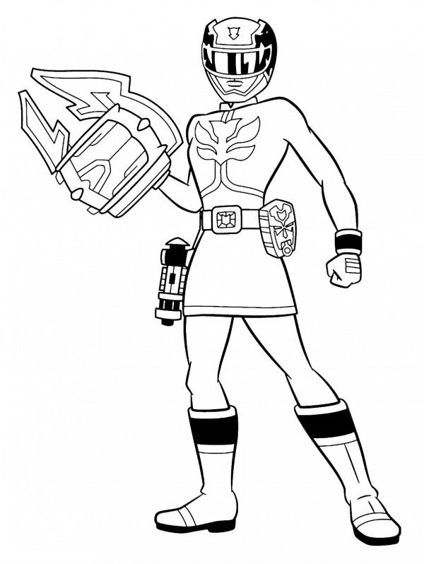 power rangers super samurai coloring pages to print - pink power ranger coloring pages coloring pages