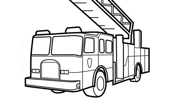 Fire hydrant coloring pages