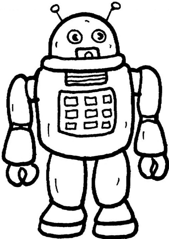 Printable Robot Coloring Pages Coloring Me Coloring Pages Robot