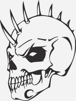 Printable Skull Coloring Pages Coloring Me