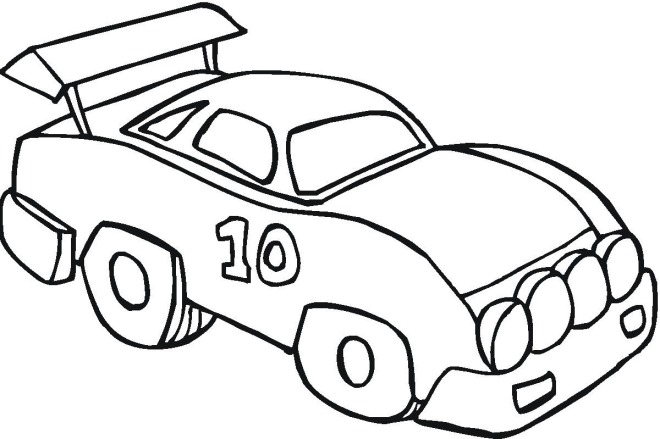 toy car coloring pages coloring pages