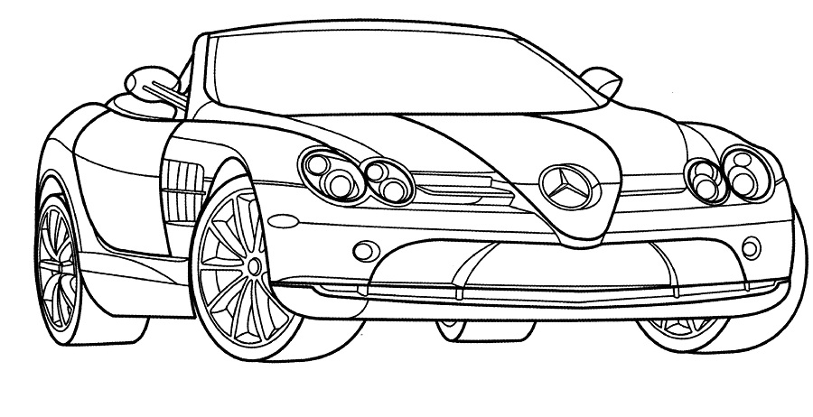 race car coloring sheets - Racecar Coloring Pages