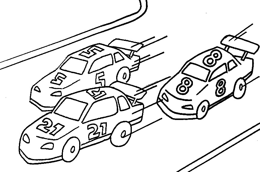 Printable Race Car Coloring Pages | ColoringMe.com