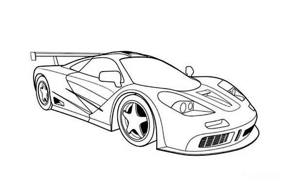 Printable Race Car Coloring Pages Coloringme Com