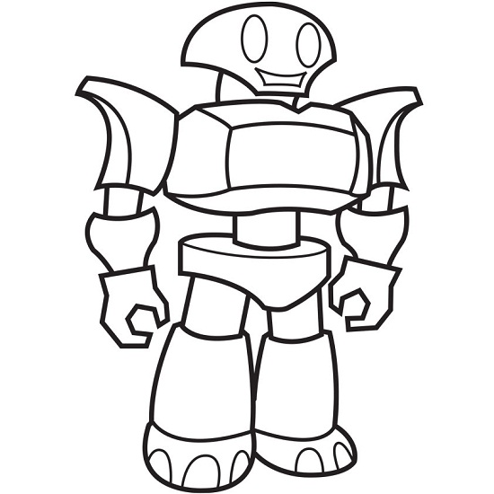 Printable Robot Coloring Pages Coloringmerhcoloringme: Printable Coloring Pages Robots At Baymontmadison.com