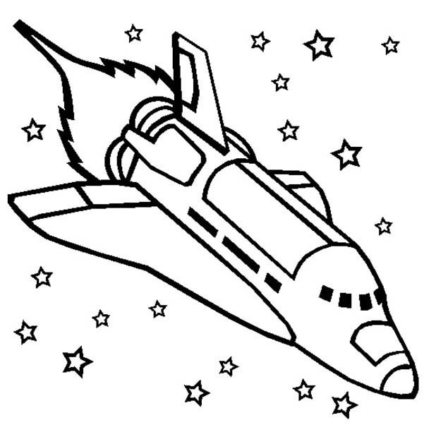 coloring pages on space - photo#21