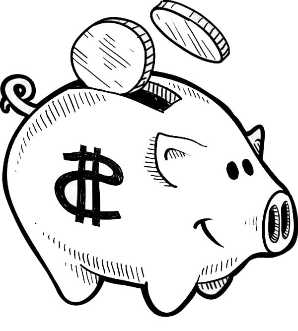 money coloring pages - money sign coloring pages coloring pages