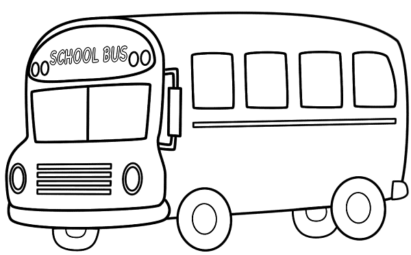 Printable School Bus Coloring Pages  Coloring Me