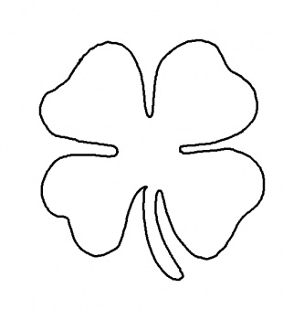 shamrock coloring sheets - Shamrock Coloring Page