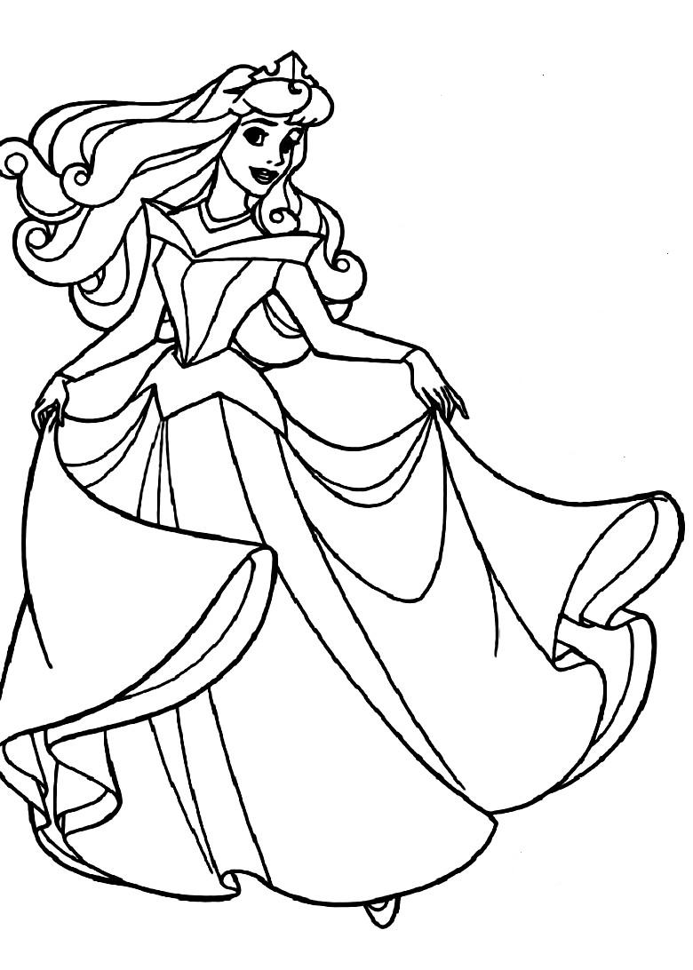 printable sleeping beauty coloring pages coloring me