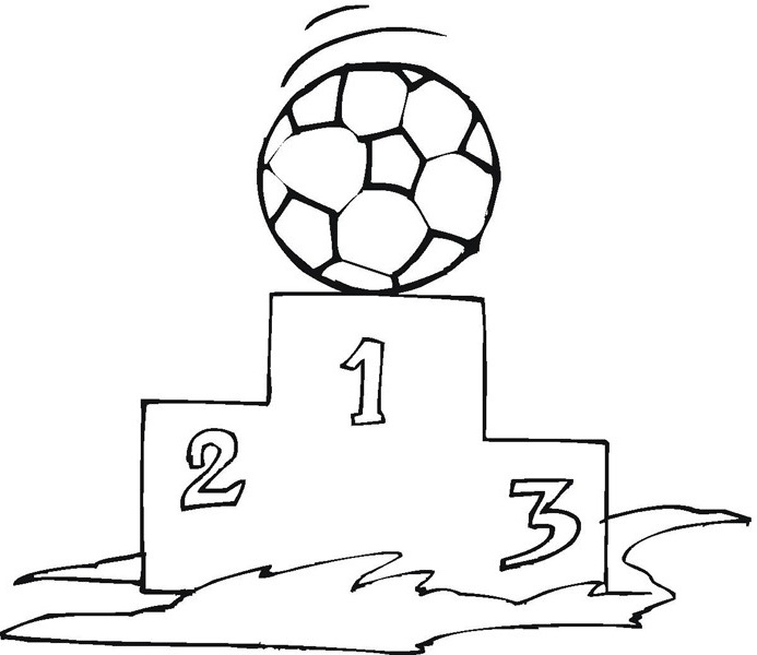 soccer and coloring pages - photo#36