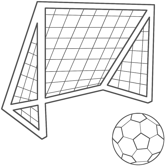 Printable Soccer Coloring Pages | Coloring Me