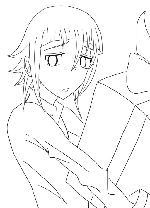 Soul Eater Coloring Pages Crona | Coloring Me