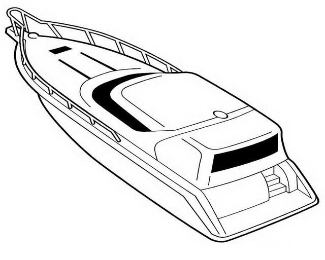printable boat coloring pages me