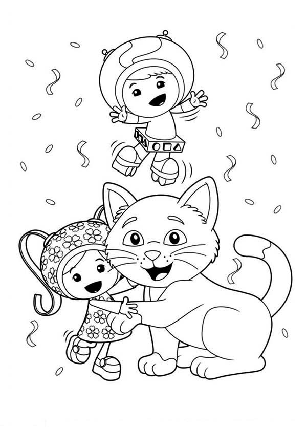 Geo Team Umizoomi Coloring Pages Coloring Pages