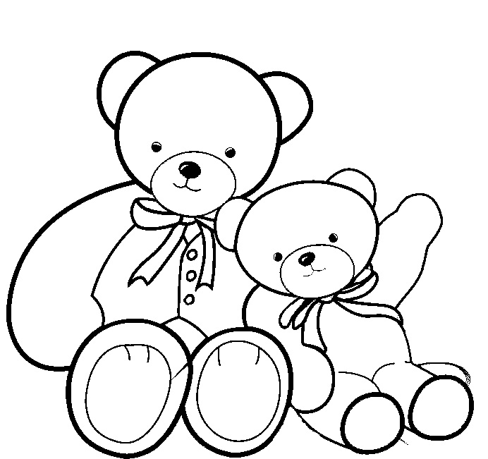 bear coloring pages sparklebox free - photo#30