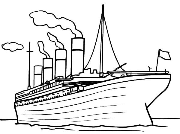Titanic Coloring Pages | ColoringMe.com