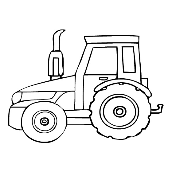 tractor coloring pages for toddleers - photo#18
