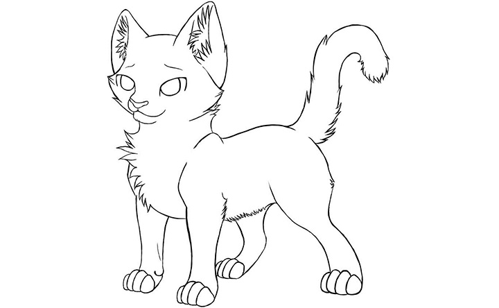 Worksheet. Printable Warrior Cat Coloring Pages  Coloring Me