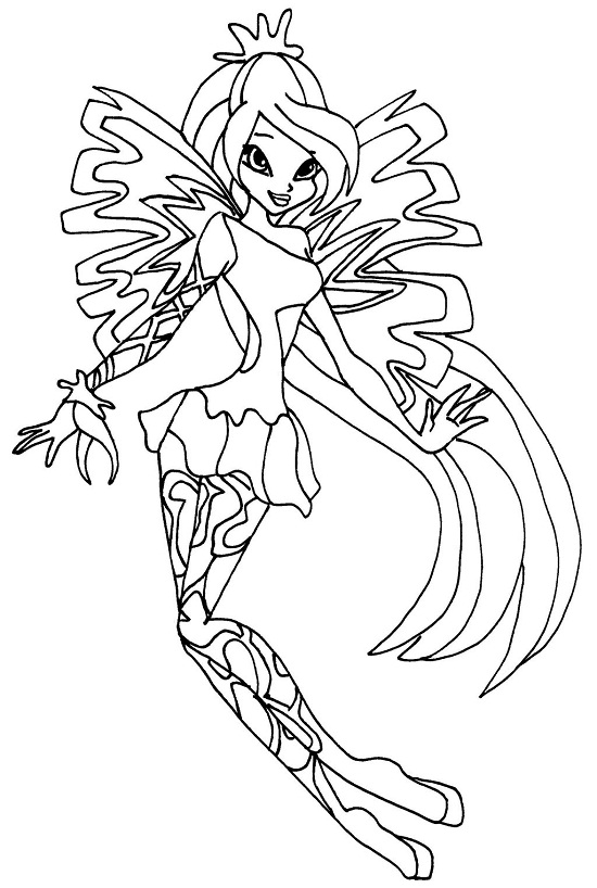 Printable Winx Club Coloring Pages Coloringme Com